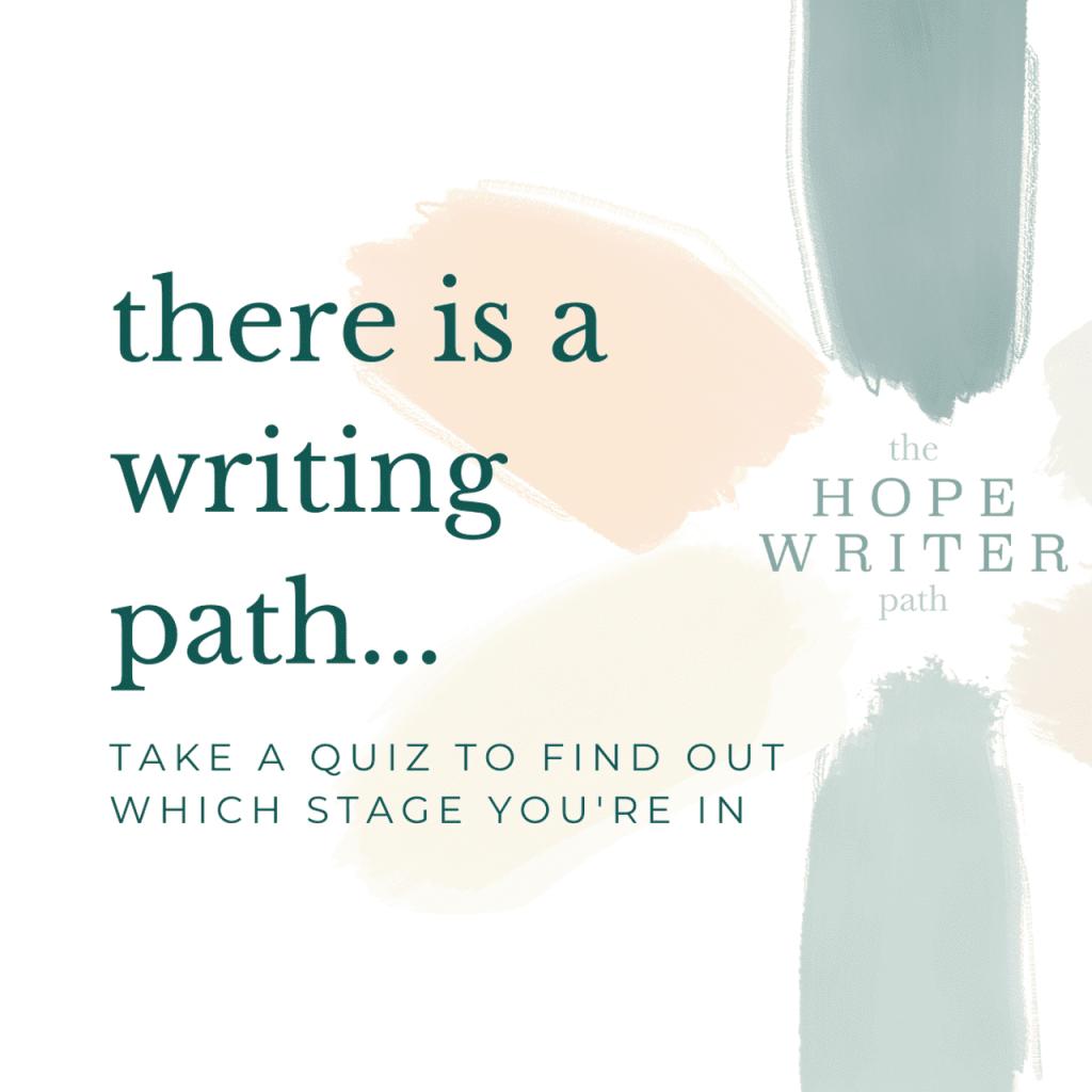 hope*writers writing path logo